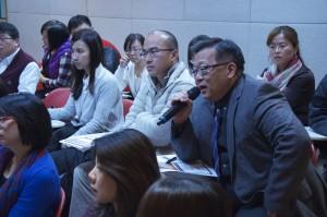 James Yuan asking Q